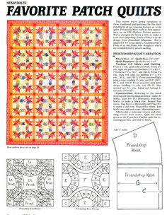 Friendship Knot Quilt Blocks – Q is for Quilter Quilting Tips, Quilting Tutorials, Quilting Designs, Quilt Design, Quilt Block Patterns, Pattern Blocks, Quilt Blocks, Friendship Knot, Celtic Quilt