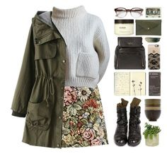 """""""Sleepy Brown"""" by chelseapetrillo ❤ liked on Polyvore"""