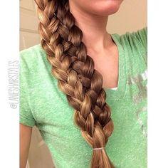 Lace up braid