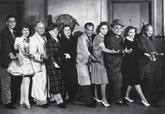 Cast and crew from 'Babes in Arms' 1939.