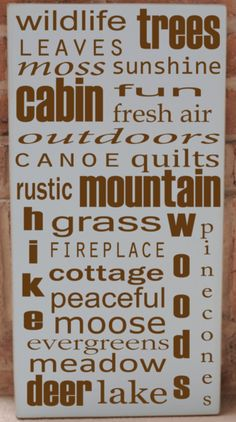 I+Love+the+Mountains+Subway+Art+Wooden+Sign+by+vinylcrafts+on+Etsy,+$55.00
