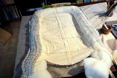 Rosa Mitnik: Jak se šije hnízdo pro miminko/ Návod na šití