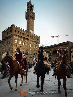 The Three Kings in Piazza della Signoria