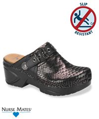 Nurse Mates Casey Nursing Shoe Black Python Style # CASEYBLP #nursingshoes #nursemates #uniformadvantage