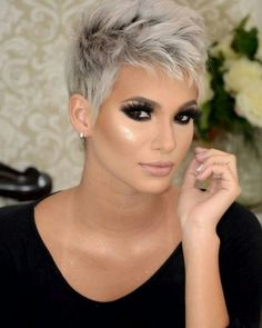 14 coiffures pour les fêtes! De l'argent au gris, une vrai beauté - Coiffures Originales