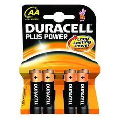 #ingrosso Batterie #Duracell Plus Power AA 1.5V - Stilo - SOLO AZIENDE CON P.IVA-