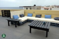 Terrace Pallets | Recyclart