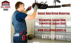 Brampton Garage Door Repair - Our technicians have the skills to repair garage doors of any size, shape or weight. We also offer 24/7 Emergency service. We are able to serve homes and businesses all over Brampton. call (647-360-9161) us, if you have an emergency related garage doors.
