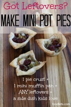 The perfect little-bit-of-leftovers solution!