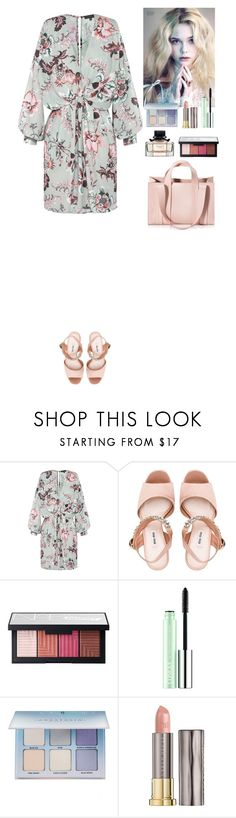 """""""Outfit"""" by eliza-redkina on Polyvore featuring мода, Miu Miu, NARS Cosmetics, Clinique, Anastasia Beverly Hills, Urban Decay, Corto Moltedo, outfit, like и look"""