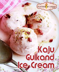 is the best Ice cream manufactures in Rohini Delhi presents Kaju Gulkand Ice Cream. Flavors of London Platinum Flavors ice cream is made under hygienic facilities with the traditional method. Famous Ice Cream, Best Ice Cream, Flavor Ice, Ice Cream Parlor, Presents, Traditional, London, Desserts, Dessert
