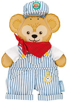Duffy the Disney Bear Train Engineer Costume - Walt Disney World - 17'' on shopstyle.com