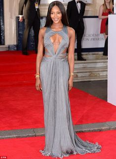 via By Sasha - Naomi Campbell looked stunning as she arrived at the 2014 Arqiva British Academy Television Awards at London's Theatre Royal ...