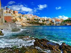 #Syros: The sovereign of #Cyclades! Stage your dream #wedding in the capital of Cyclades #islands with #BlueSeaWeddings!