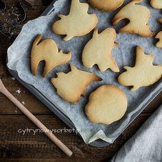 Półkruche ciasteczka na Halloween