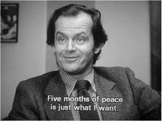 """""""Tudo o que eu preciso, são cinco meses de paz"""" O Ilumunado"""