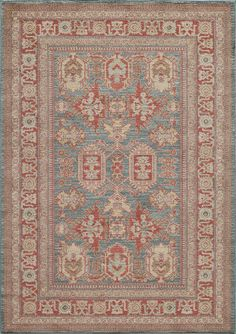 Momeni Ghazni Collection Gz : Ghazngz-01blu7a9a   Area Rugs   The Rug Mall