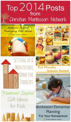What an amazing year to reflect and dream! Top 2014 Posts from ChritianMontessoriNetwork.com