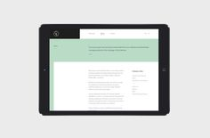 Future Collective by Hatch Inc. #grafica #web #tablet