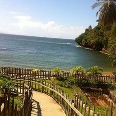 macqueripe beach, I love the cliff there!!! Trinidad & Tobago