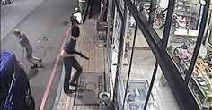 awesome Watch this young white guy rob a petrol station in Johannesburg This armed robbery was on the 23rd of January at a petrol station in Johannesburg. This young guy stopped at the shop door and just walked in with a Shotgun. https://www.sapromo.com/watch-this-young-white-guy-rob-a-petrol-station-in-johannesburg/7261