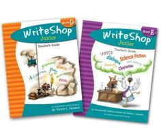WriteShop Junior homeschool writing curriculum introduces 3rd-6th graders to genre while teaching important writing, editing, and grammar skills.