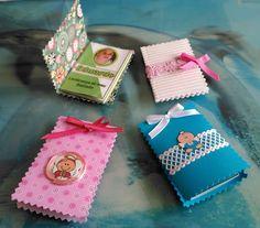 Mini livrinhos com orações