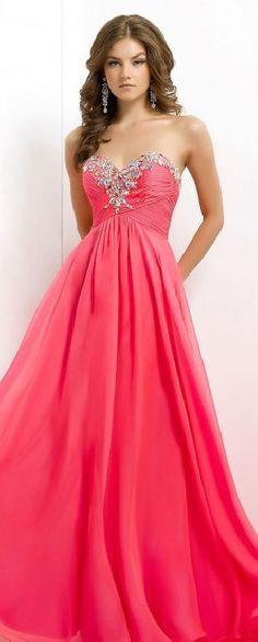 Sexy Red Sleeveless A-Line Floor Chiffon Prom Dresses klkdresses16542xdf #longdress #promdress