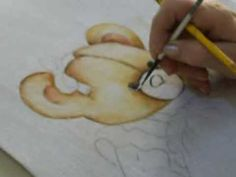 pintura em fralda Corina