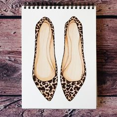 Style of Brush by Gizem Kazancıgil #fashionillustration gizem kazancigil #leopardshoes
