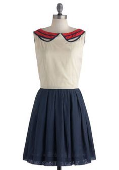 Banner Day Dress, #ModCloth