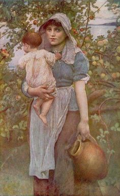 The Young Mother. Annie Louisa Robinson Swynnerton
