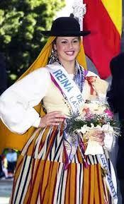 Image result for trajes vestimenta tradicional canaria