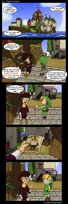 Your mom joke, Wind Waker style - The Legend of Zelda: Wind Waker; fan art
