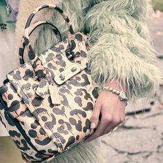 garybaseman& wild beast print on the coach swagger carryall . Gary Baseman, Coach Bags Outlet, Bags 2015, Old Movies, Coach Purses, Louis Vuitton Speedy Bag, Beast, Vintage Outfits, Handbags