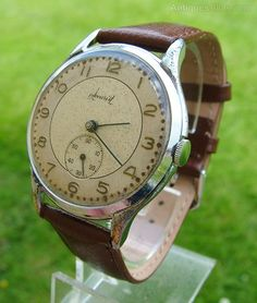 Wristwatch oversized vintage