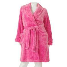 SONOMA life + style® Plush Wrap Robe - Women's Plus