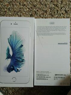 Apple iPhone 6S Plus (Latest Model) - 64GB - Silver (Verizon) Smartphone #Apple #Bar