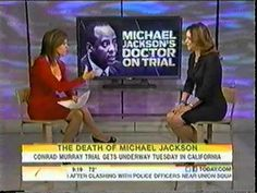 Legal analyst Karen Desoto appears on the Today Show Wolfe with Jenna to discuss the legal aspects of the Conrad Murray trial