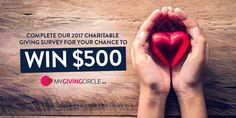 Tell us what you love about Charities and what they could do better and you could win $500!
