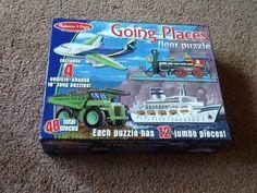 Going places 4 transportation puzzles