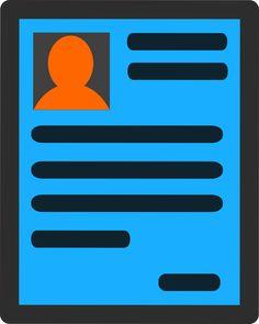 Resume, Job Application, Icon, Inkscape, Paper, Sheet