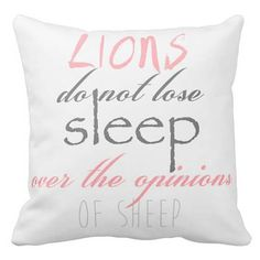 Pillow Cover Inspirational Quote by Jolie Marche Such a great quote