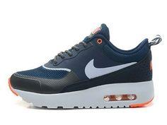 Femme/Homme Nike Air Max Thea Chaussures Imprimer Marine Anthracite Blanche Orange Paris Stockist