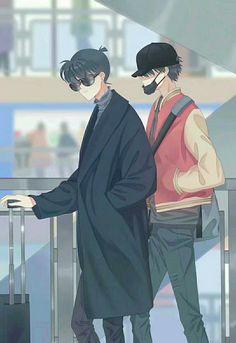 Kaito x Kudo Dc Anime, Anime Guys, Manga Anime, Manga Detective Conan, Detective Conan Shinichi, Ran And Shinichi, Kudo Shinichi, Kaito Kuroba, Detektif Conan
