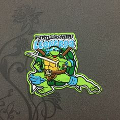 Teenage Mutant Ninja Turtles patch Animation patches iron on monogram Cartoon patches iron on patches