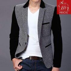 G Moda Casual, Business Look, Casual Blazer, Mens Fashion Suits, Blazer Jacket, Hooded Sweatshirts, Designer Dresses, Menswear, Bridesmaid Dresses