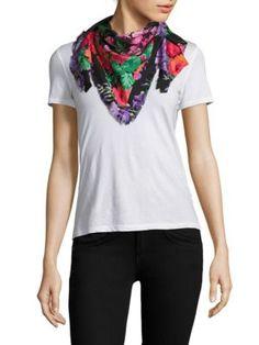 GUCCI Lenis Silk Scarf. #gucci #scarf