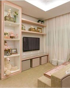 Bedroom Design Ideas – Create Your Own Private Sanctuary Dream Rooms, Dream Bedroom, Baby Bedroom, Girls Bedroom, Bedrooms, Diy Deco Rangement, Bedroom Furniture, Bedroom Decor, Bedroom Ideas