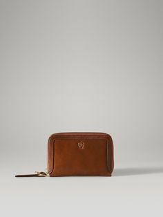 CREST LEATHER WALLET